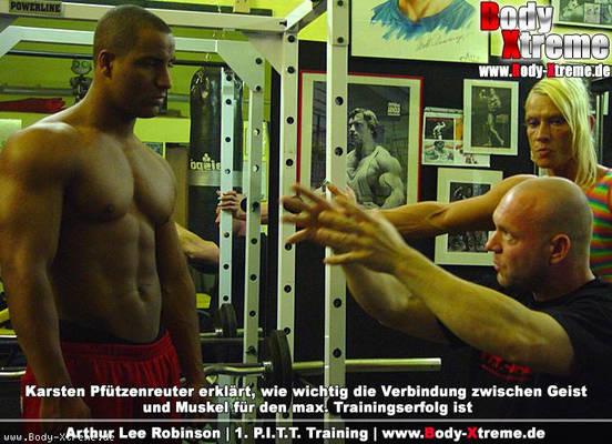 Arthur Lee Robinson wechselt zum PITT Training