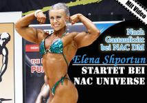 Elena Shportun startet bei NAC Universe