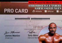 IFBB Proleague ändert Voraussetzungen f�r Pro Card