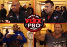 L.A. FLEX Pro - Athletenmeeting und Interviews