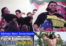 Patrik Baboumian - Seminar f�r Kids