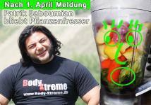 Patrik Baboumian bleibt Pflanzenfresser