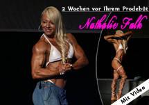 Nathalie Falk - 2 Wochen vor Profidebüt