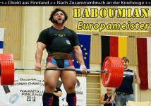 Patrik Baboumian wird Europameister