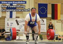 Raw-Powerlifting EM - Video