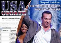 USA Update - Gaspari sorgt für Aufregung