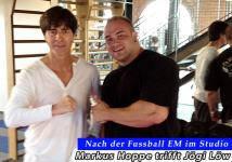 Markus Hoppe trifft Jogi L�w im Gym