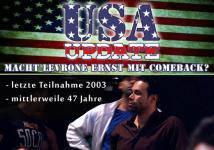 USA Update - Macht Levrone Ernst mit Comeback �