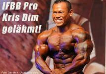 IFBB Pro Kris Dim gelähmt