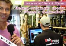 Roland Kickinger macht mit Pierre den Gesundheitscheck