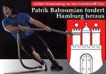 Patrik Baboumian fordert Hamburg heraus