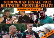Deutsche Strongman Meisterschaft - Interviews + WrapUp