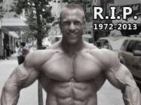 IFBB Pro Ed van Amsterdam passed away